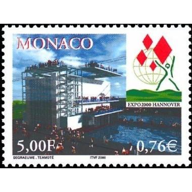 Monaco Neuf ** N° 2252
