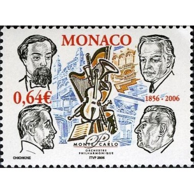 Monaco Neuf ** N° 2536