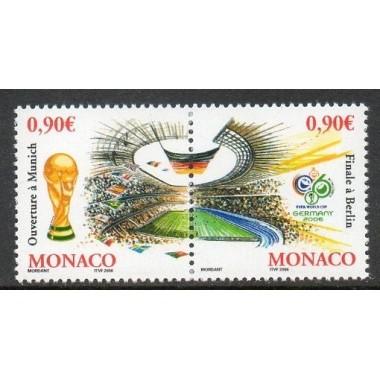 Monaco Neuf ** N° 2539/40