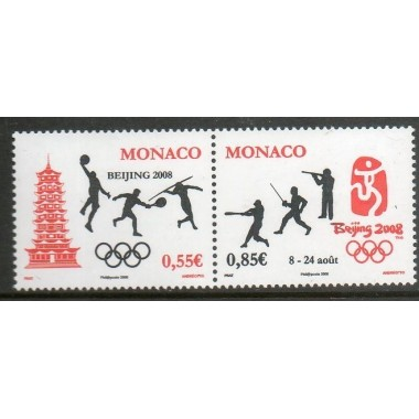 Monaco Neuf ** N° 2627/28