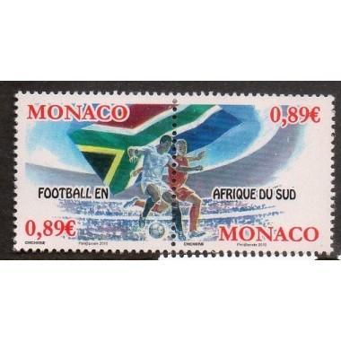 Monaco Neuf ** N° 2724/25
