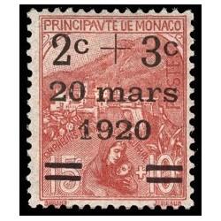Monaco N° 0034A N *