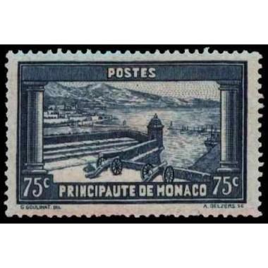 Monaco N° 0125 Obli