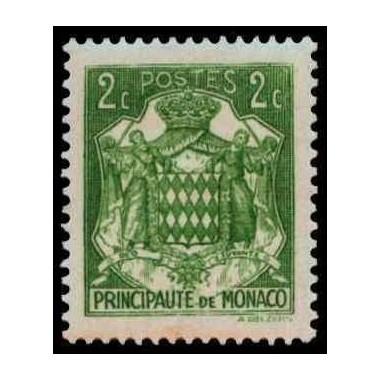 Monaco N° 0155 Obli