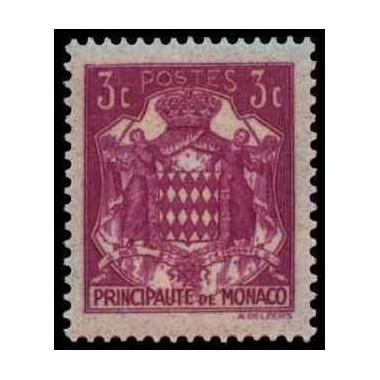Monaco N° 0156 Obli