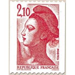 FR N° 2322a Neuf ** avec FR N° rouge