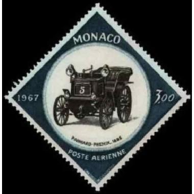 Monaco PA Obli N° 0091