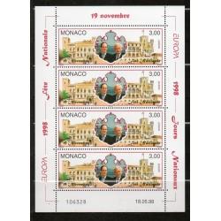 Monaco feuille du N° 2153