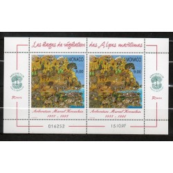 Monaco feuille du N° 2134