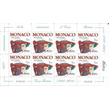 Monaco feuille du N° 2168 Neuf **