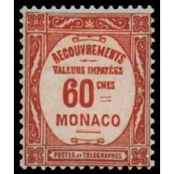 Monaco TA Neuf ** N° 0016