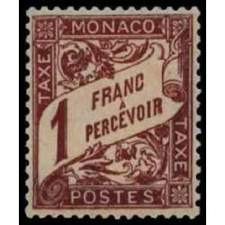 Monaco TA N° 0023  N **