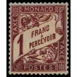 Monaco TA Neuf ** N° 0023
