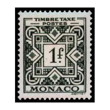 Monaco TA Neuf ** N° 0032