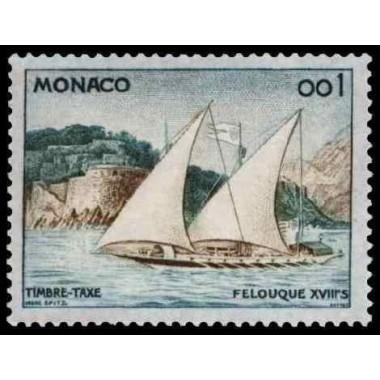 Monaco TA Neuf ** N° 0056