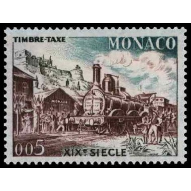 Monaco TA Neuf ** N° 0058