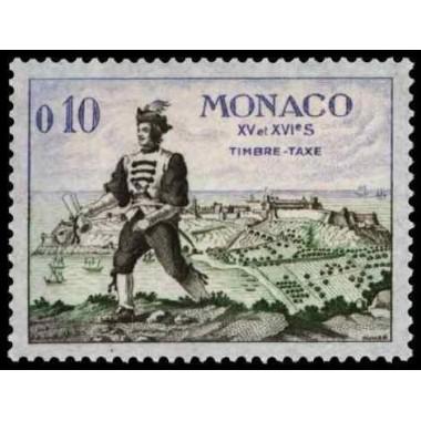 Monaco TA Neuf ** N° 0059