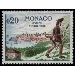 Monaco TA Neuf ** N° 0060