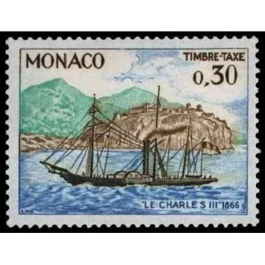 Monaco TA Neuf ** N° 0060A