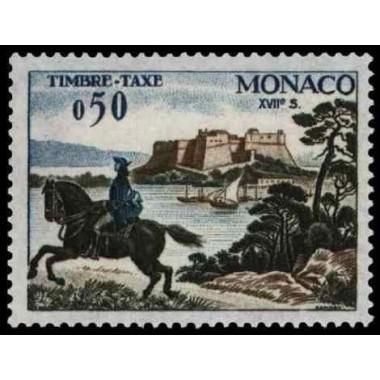 Monaco TA Neuf ** N° 0061