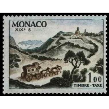 Monaco TA Neuf ** N° 0062