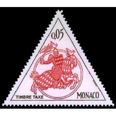 Monaco TA Neuf ** N° 0063