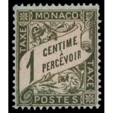 Monaco TA Neuf * N° 0001