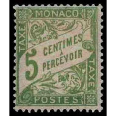 Monaco TA Neuf * N° 0002