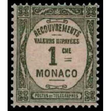 Monaco TA N° 0013 N *