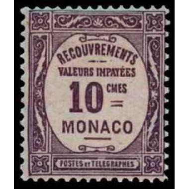 Monaco TA Neuf * N° 0014