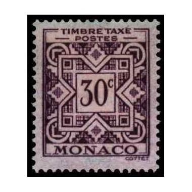 Monaco TA Neuf * N° 0030