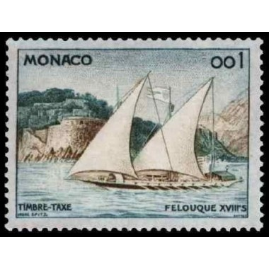 Monaco TA  N° 0056 Obli