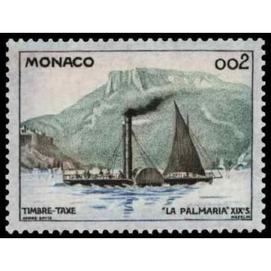 Monaco TA  N° 0057 Obli