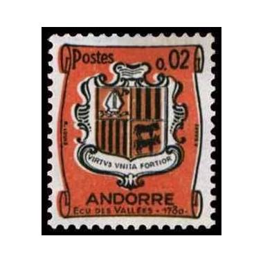 ANDORRE N ** N° 0153B