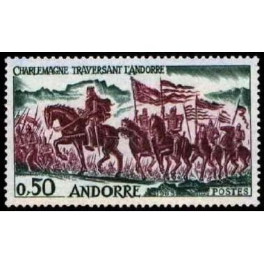 ANDORRE N ** N° 0167