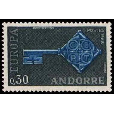 ANDORRE N ** N° 0188