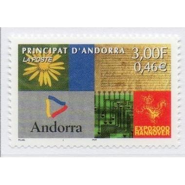 ANDORRE N° 0536 N **