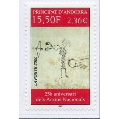 ANDORRE N° 0539 N **