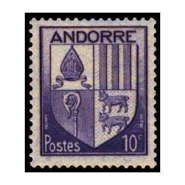 ANDORRE N* N° 0093