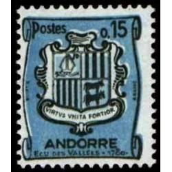 ANDORRE N° 0156 N *