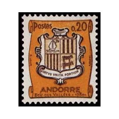 ANDORRE N° 0157 N *