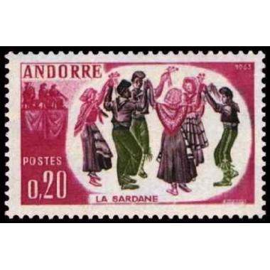 ANDORRE N* N° 0166