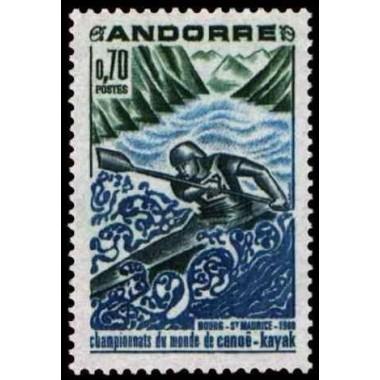 ANDORRE Obl N° 0196