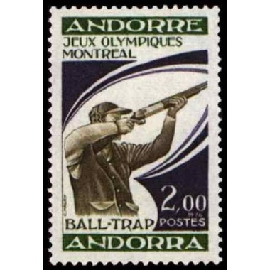 ANDORRE Obl N° 0256