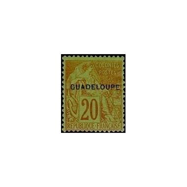Guadeloupe N° 020 N *