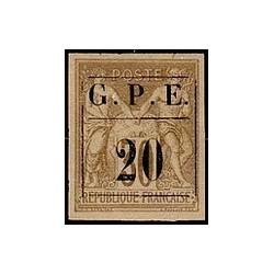 Guadeloupe N° 001 Obli