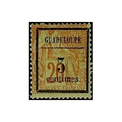Guadeloupe N° 003 Obli