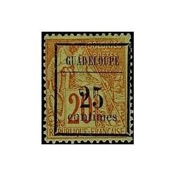 Guadeloupe N° 005 Obli