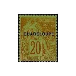 Guadeloupe N° 020 Obli