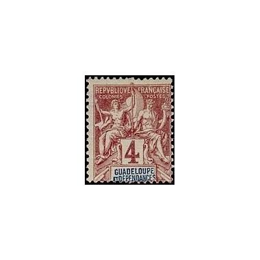 Guadeloupe N° 029 Obli